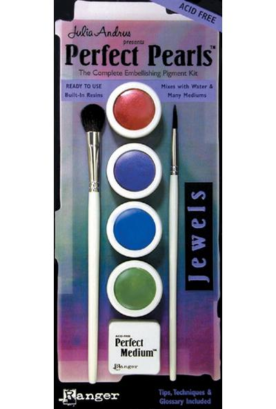 RANGER Perfect Pearls 4-Color Set - Jewels
