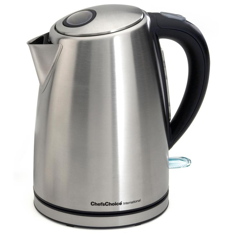 Chef's Choice™ Cordless 7-Cup Stainless-Steel Electric Kettle