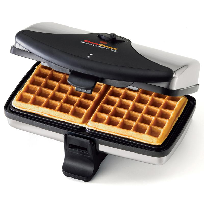 Chef's Choice™ WafflePro Dual-Square Waffle Maker