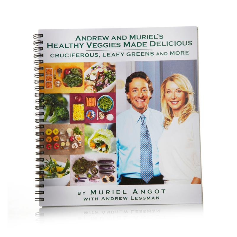 Andrew Lessman Andrew's Healthy Veggies Made Delicious Cookbook