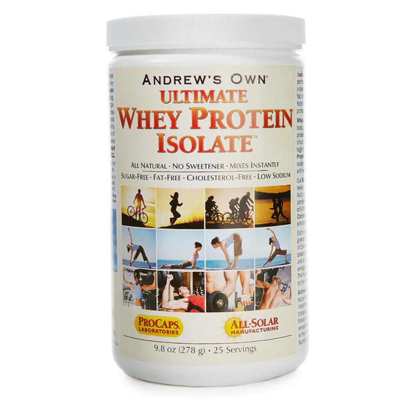 Andrew Lessman Ultimate Whey Protein Isolate - 25 Servings