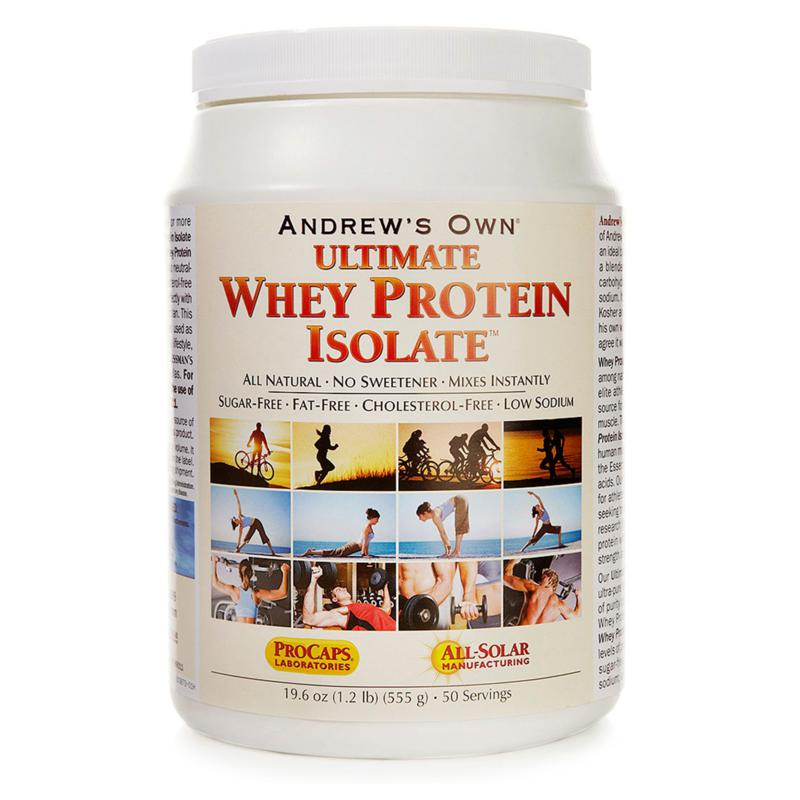 Andrew Lessman Ultimate Whey Protein Isolate - 50 Servings