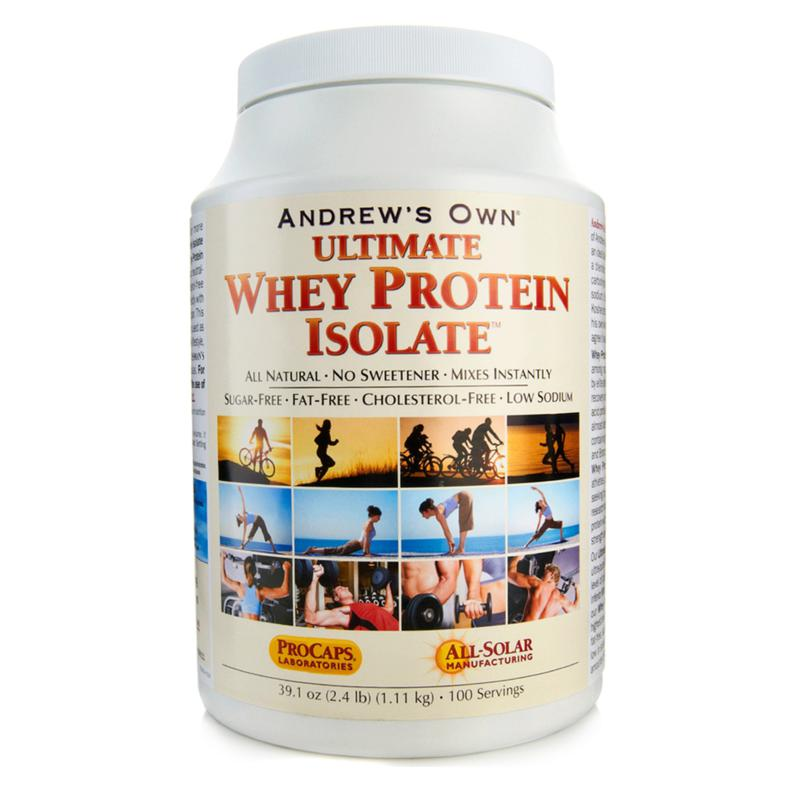 Andrew Lessman Ultimate Whey Protein Isolate - 100 Servings