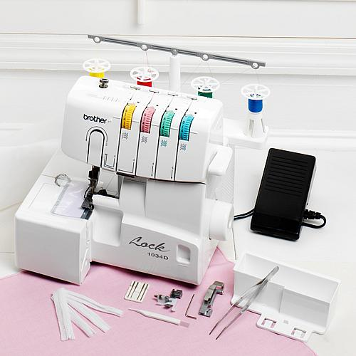 4-3 Serger with Built-In Threader and CD