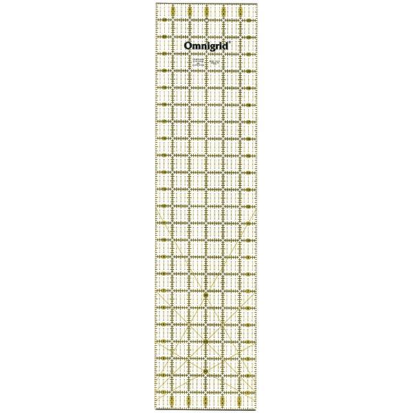 DRITZ Omnigrid Quilter's Ruler - 6 x 24