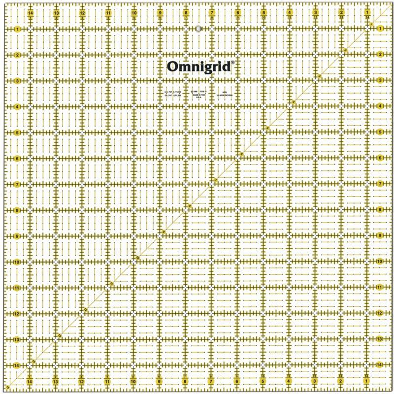 DRITZ Omnigrid Quilter's Square - 15x15