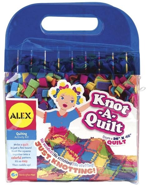 Alex Toys Knot A Quilt Kit