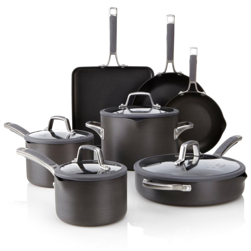 Calphalon 11-piece Nonstick Cookware Set