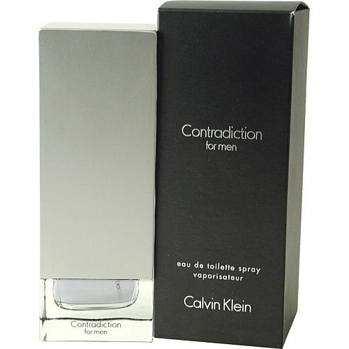 Contradiction For Men by Calvin Klein - Eau De Toilette Spray 3.4 Oz