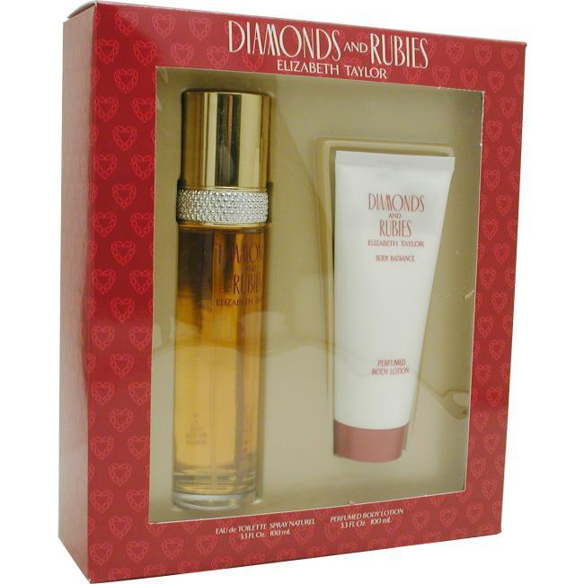 Elizabeth Taylor Diamonds & Rubies - Set-edt Spray 3.3 Oz & Body Lotion 3.3 Oz