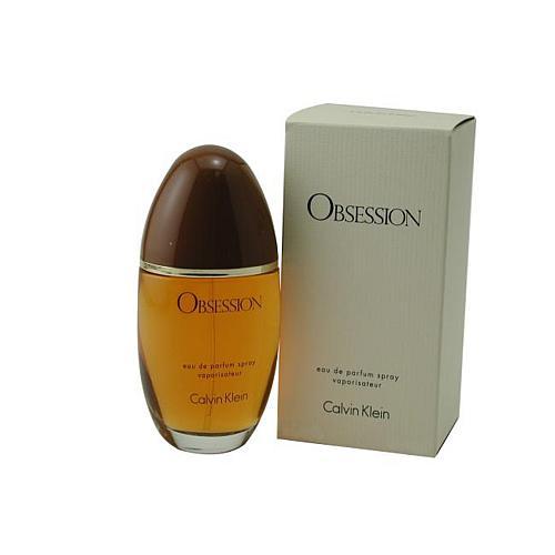 Obsession For Women by Calvin Klein - Eau De Parfum Spray 3.4 Oz