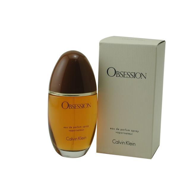 Calvin Klein Obsession For Women by Calvin Klein - Eau De Parfum Spray 3.4 Oz