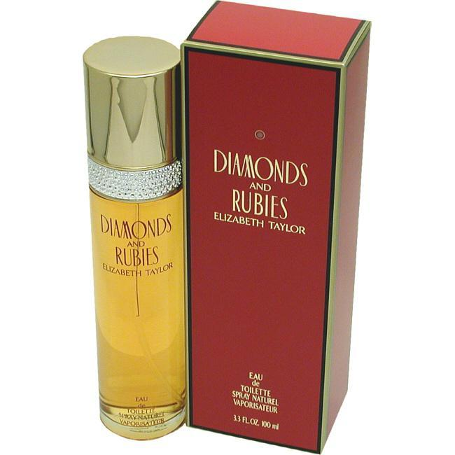 Elizabeth Taylor Diamonds & Rubies - Eau De Toilette Spray 3.3 Oz
