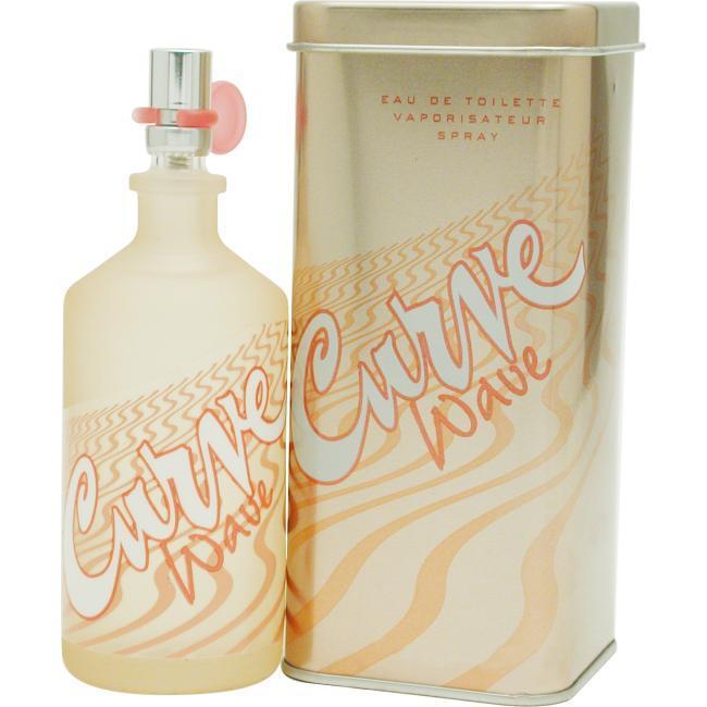 Liz Claiborne Curve Wave for Women by Liz Clairborne - Eau De Toilette Spray 3.4 Oz