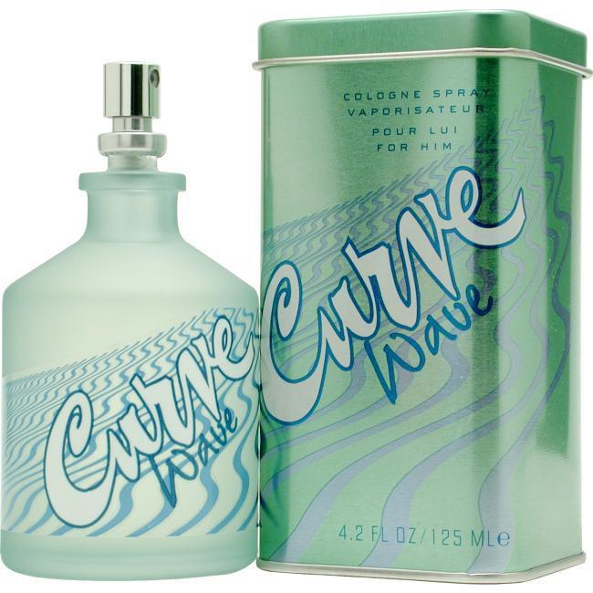 Liz Claiborne Curve Wave for Men by Liz Clairborne - Cologne Spray 4.2 Oz