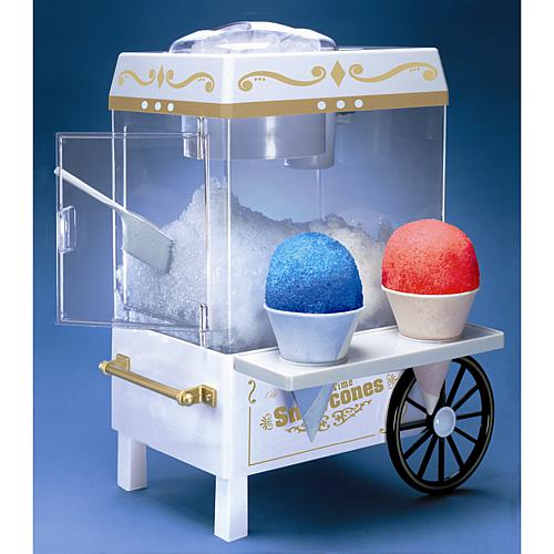 Old-Fashioned Carnival-Style Snow Cone Maker