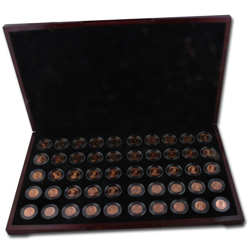 Coin Collector Complete Lincoln Memorial Proof Coin Collection (1959 - 2008)