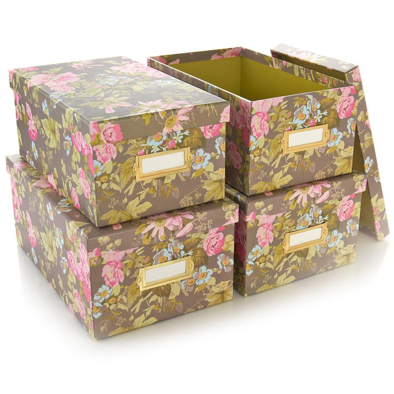 Anna Griffin Anna Griffin Craft Room Set of 4 Card Boxes