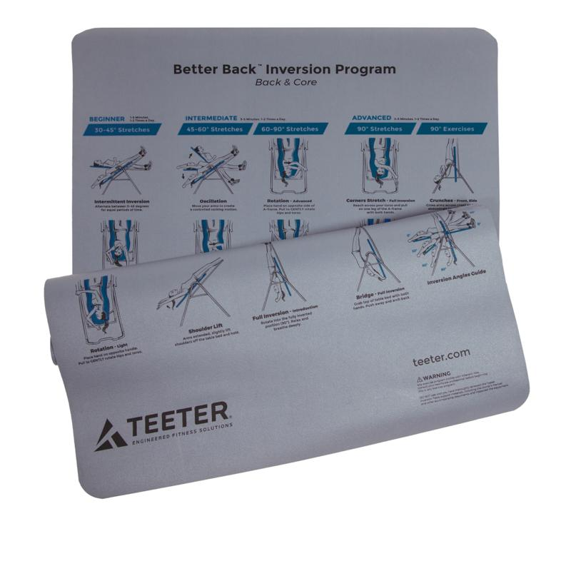 Teeter Hang Ups Teeter Hang Ups Better Back Inversion Program Mat