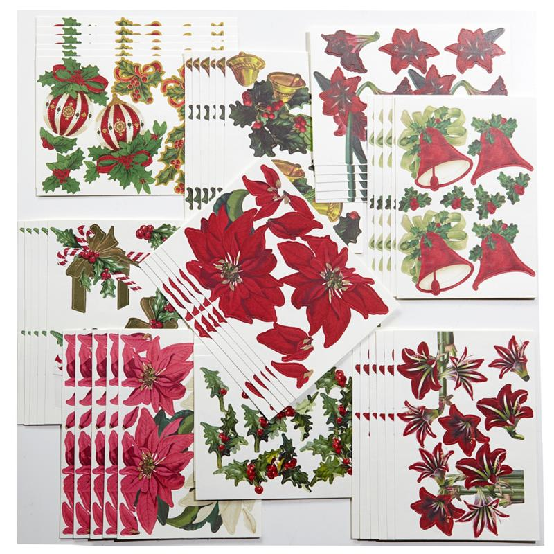 Anna Griffin Anna Griffin Holiday Decoupage Die-Cuts Kit