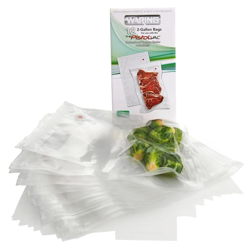 Waring Pro Waring Pro 12-pack 2-Gallon Vacuum-Seal Bags for Pistol Vac