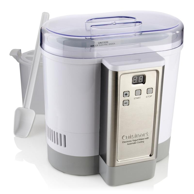 Cuisinart Cuisinart Electronic Auto-Cooling Yogurt Maker with Recipes