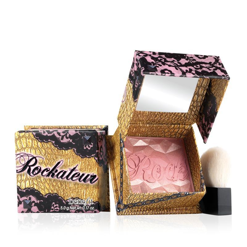 Benefit Cosmetics Benefit Rockateur Rose Gold Box o' Powder