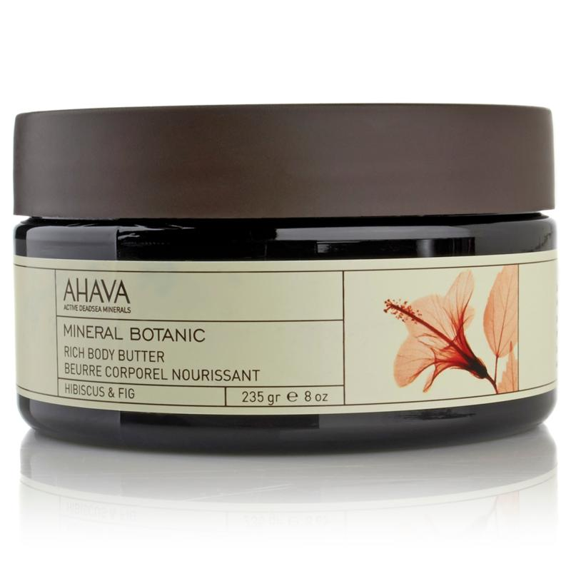 AHAVA AHAVA Mineral Botanic Rich Body Butter - Hibiscus and Fig