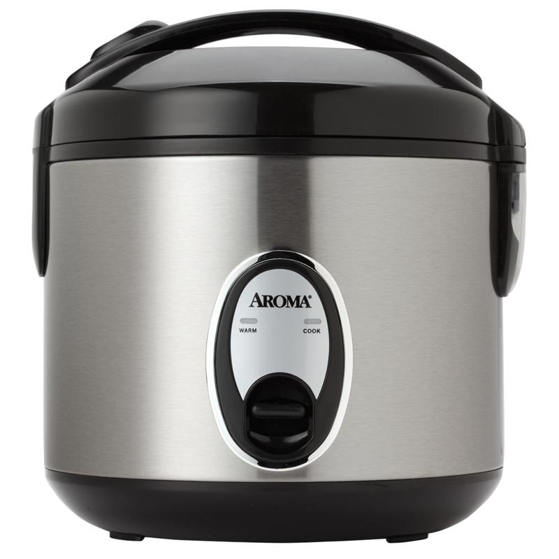 HSN Aroma 8-Cup Stainless Steel Rice Cooker