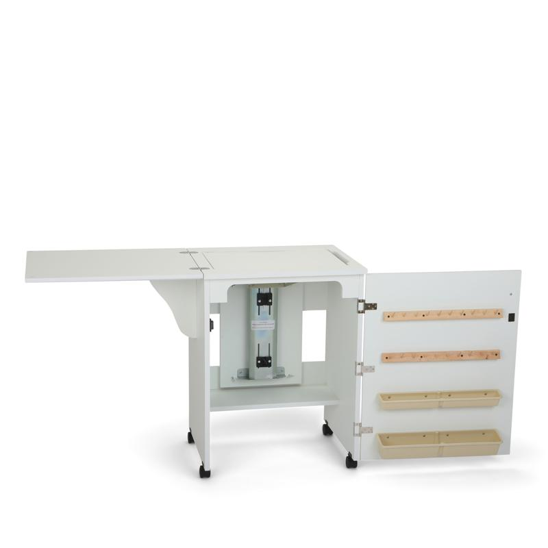 Arrow Tables Arrow Airlift Sewing Cabinet with Built-In Storage