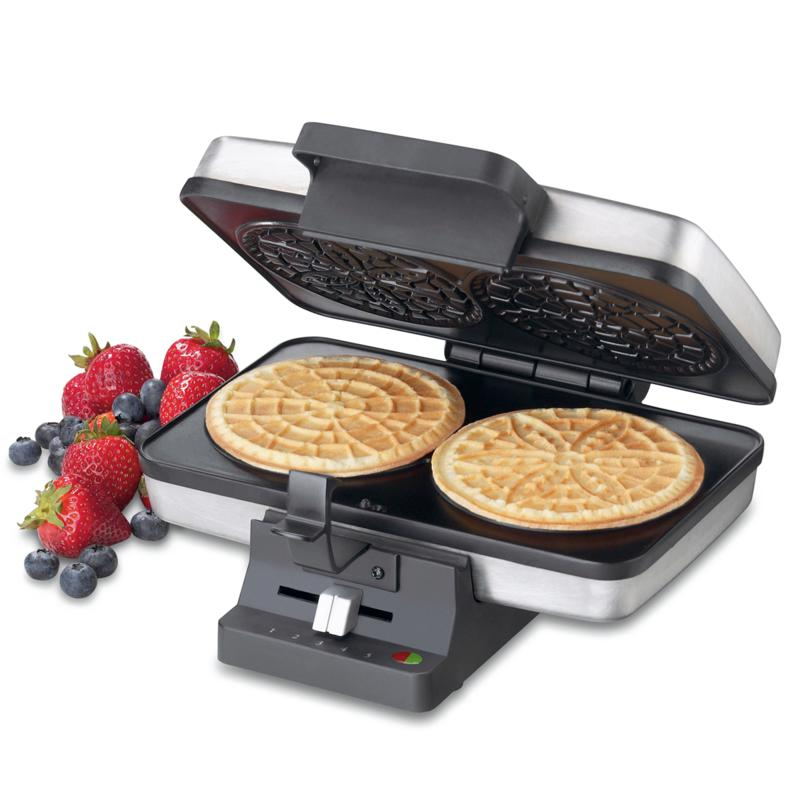 Cuisinart Cuisinart Brushed Stainless Steel Pizzelle Press