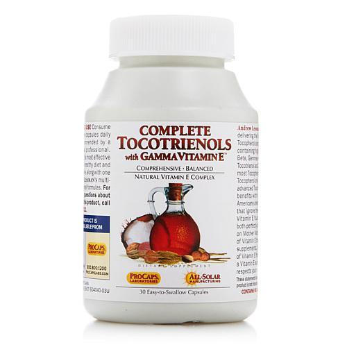 Andrew Lessman Complete Tocotrienols with Gamma Vitamin E - 30 Capsules