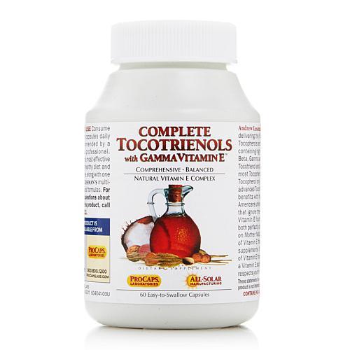 Andrew Lessman Complete Tocotrienols with Gamma Vitamin E - 60 Capsules