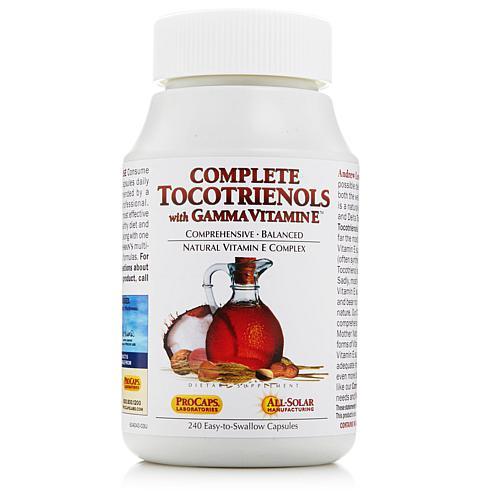 Andrew Lessman Complete Tocotrienols with Gamma Vitamin E - 240 Capsules