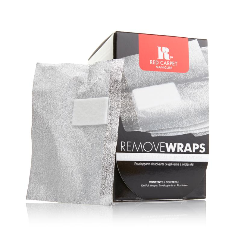 Red Carpet Manicure Red Carpet Manicure Remove Wraps 100-count