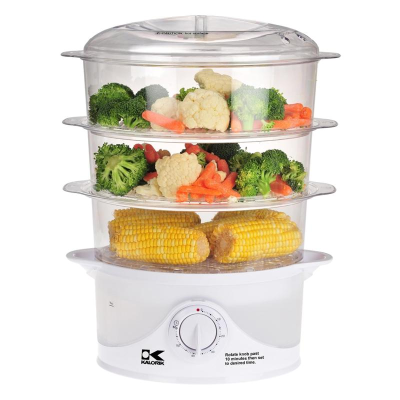Kalorik Kalorik 3-Tier Food Steamer