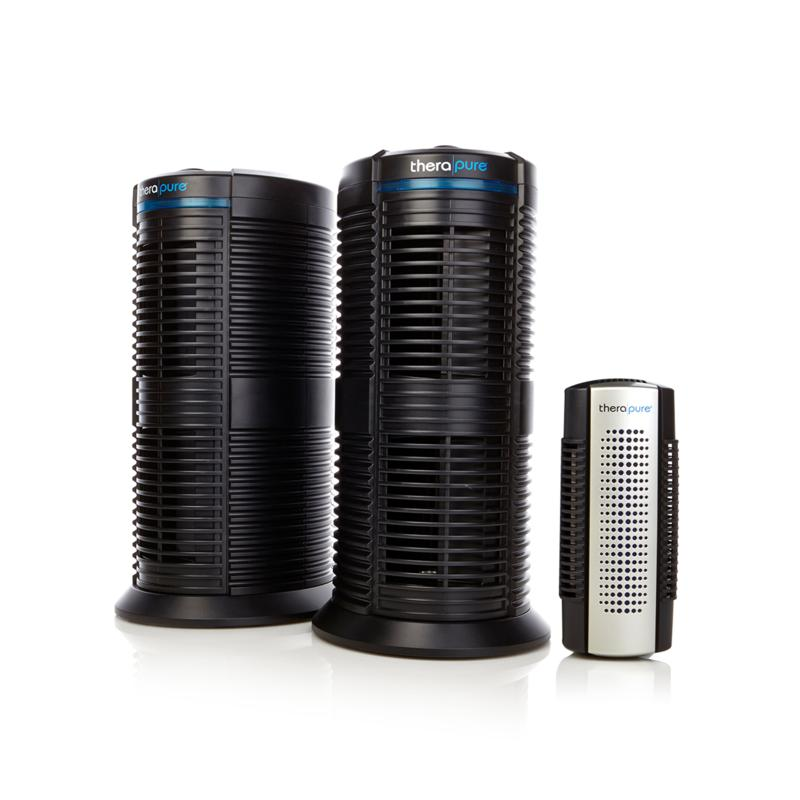 Therapure Therapure Triple Action Air Purifier 2-pack with Mini Plug-In Air Purifier