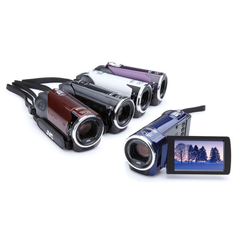 JVC JVC Everio 1080p 40X Optical Zoom HD Camcorder with Carry Case, 4GB Card and Software