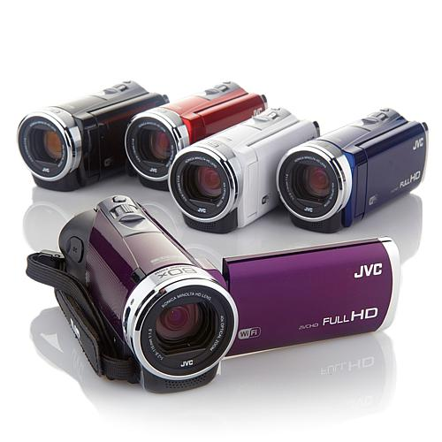JVC Everio Wi-Fi 40X Optical Zoom 3