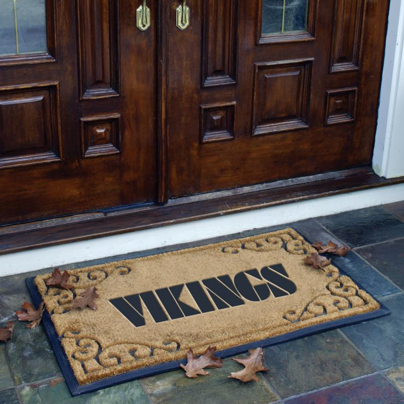 Football Fan Shop Team Door Mat - Minnesota Vikings - NFL
