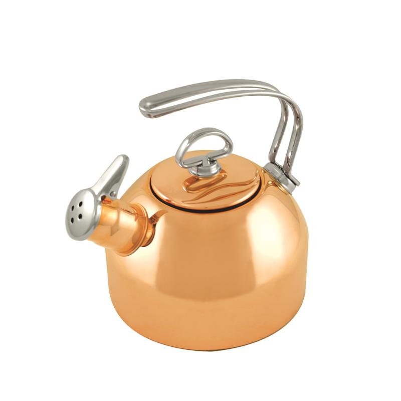 Chantal Chantal Classic 1.8-Quart Coppertone Tea Kettle