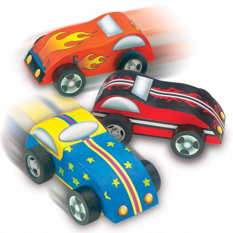 FABER-CASTELL Creativity for Kids Fast-Car Race-Cars Kit