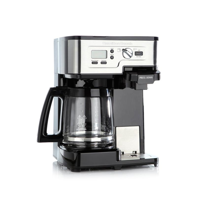 Hamilton Beach Hamilton Beach Flex Brew Single-Serve or 12-Cup Coffee Maker
