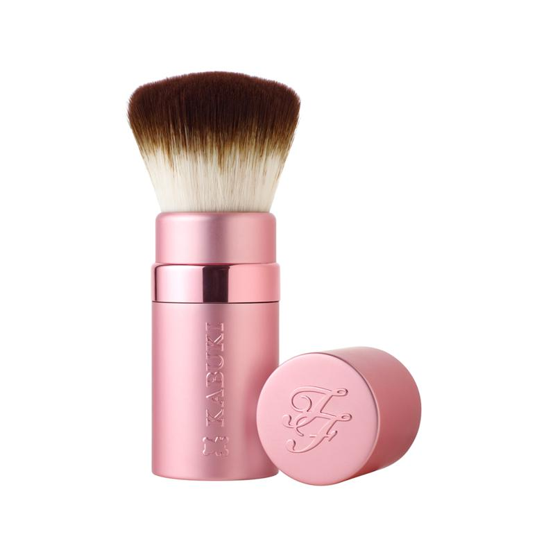 Too Faced Too Faced Teddy Bear Hair Retractable Kabuki Brush