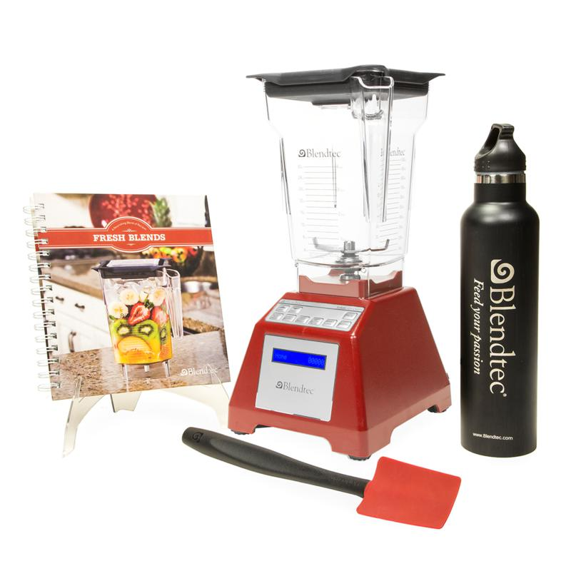 Blendtec Blendtec 1560-Watt All-in-One Total Blender Classic Set with 8-Year Limited Warranty