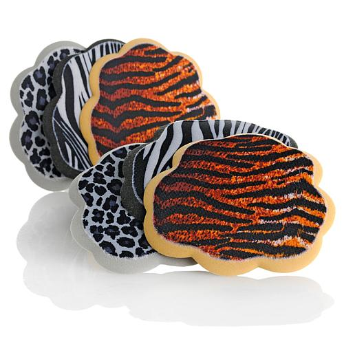 Foot Petals Tip Toes 6-piece Sexy Safari Pack