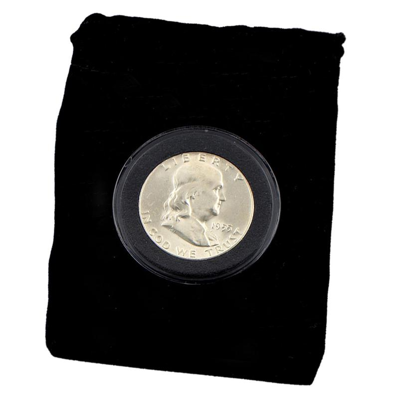 Coin Collector 1955 P-Mint Uncirculated 90% Silver Franklin Half Dollar