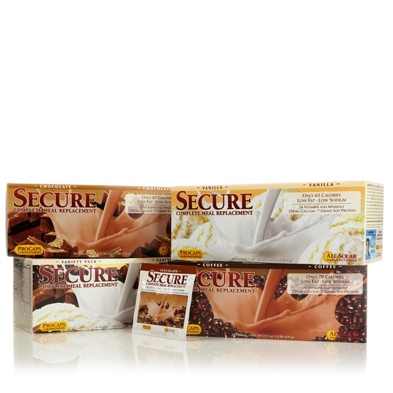 Andrew Lessman SECURE Complete Meal Replacement - 30 Packets
