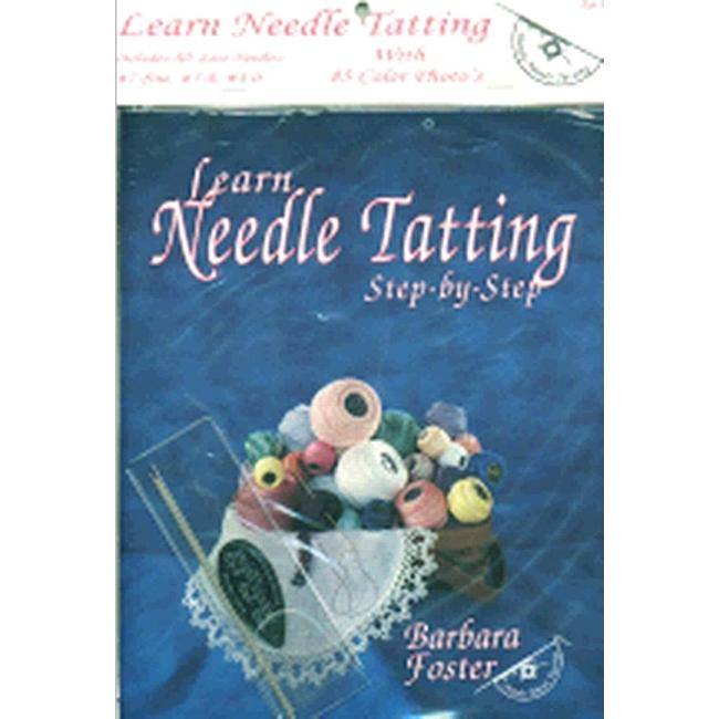 HANDY HANDS Needle Tatting Set - With #7, #5-0, #3-0 Needles and Threader