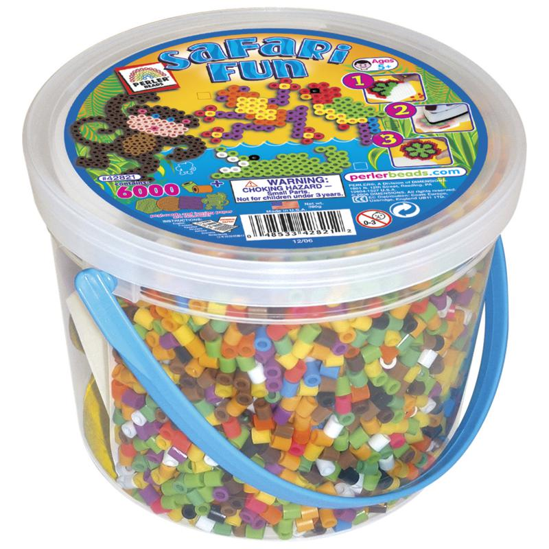 PERLER Perler Bead Safari Fun Activity Bucket